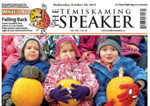 The Temiskaming Speaker is Northern Ontario's Number One Advertiser