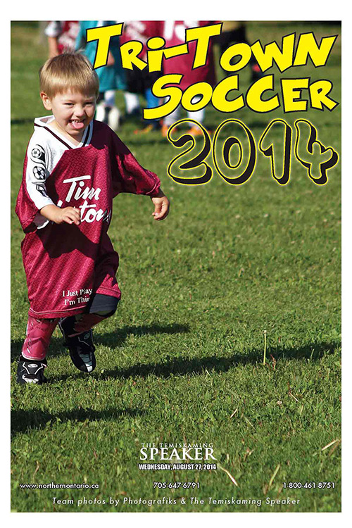 Northern Ontario News - The Temiskaming Speaker - Tri-Town Soccer 2014