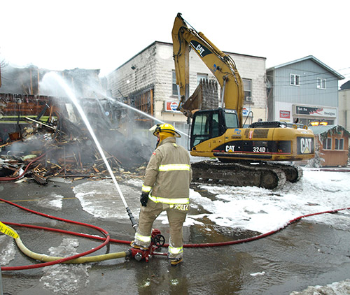 Northern Ontario News - The Temiskaming Speaker - Downtown fire pushes losses to $2.5 million in '14