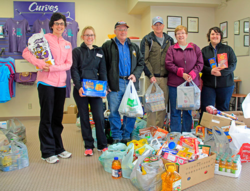 Northern Ontario News - The Temiskaming Speaker - Curves Food Drive Feeds the Needy