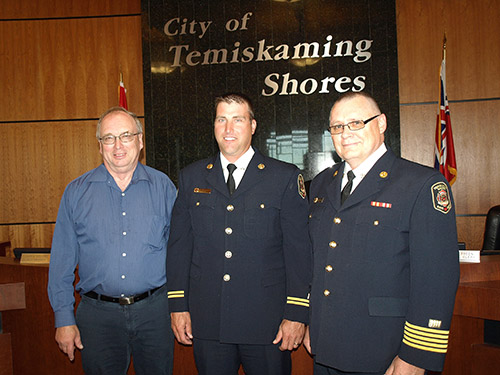 Northern Ontario News - The Temiskaming Speaker - First Training Officer