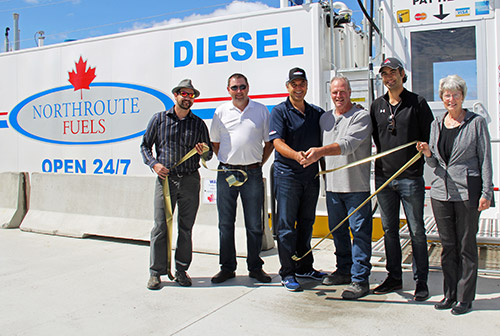 Northern Ontario News - The Temiskaming Speaker - Elk Lake - First unattended retail fuel facility in the country