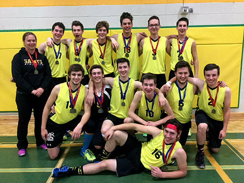 Temiskaming Shores Community Newspaper - The Temiskaming Speaker - TDSS takes the long road to volleyball provincials OFSAA