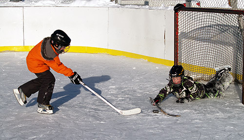 Northern Ontario News - The Temiskaming Speaker - The outdoor rink in Dymond