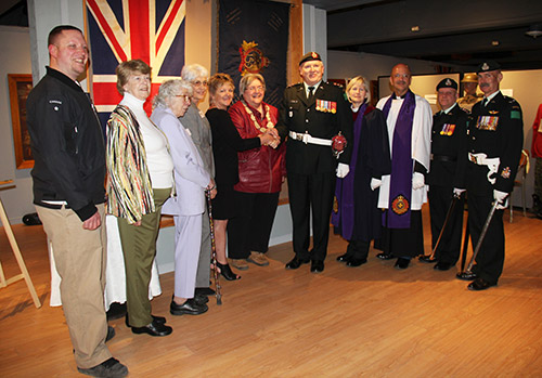 Northern Ontario News - The Temiskaming Speaker - Historic regiment's Colours to rest permanently at Bunker Military Museum
