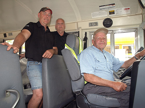 Temiskaming Shores News - Driver retires after 48 years at the wheel