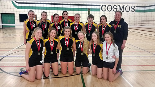 Northern Ontario News for Temiskaming Shores - The Temiskaming Speaker - Tesmiskaming District Secondary School - Volleyball