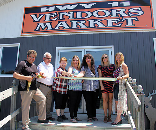 Temiskaming Shores Community News - The Speaker - Highway 11 Vendors Market opens in Coleman Township