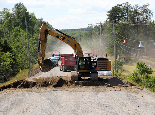 Temiskaming Shores News - Highway 11B Closed