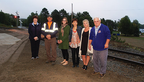 Temiskaming, Kirkland Lake, Timmins, Haileybury and Surrounding Area - News - Bass Lake Road gets rail signals
