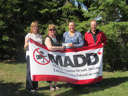 Temiskaming Shores News - The Mothers Against Drunk Driving (MADD) Temiskaming Chapter