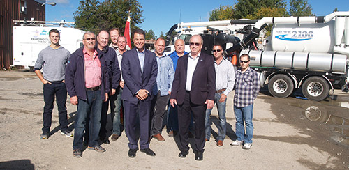 Temiskaming Shores News - Federal funding for city's sanitary lift station