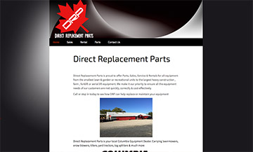 The Temiskaming Speaker - Website Design - Direct Replacement Parts
