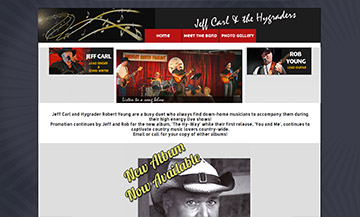 The Temiskaming Speaker - Website Design - Jeff Carl & the Hygraders