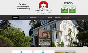 The Temiskaming Speaker - Website Design - Presidents Suites