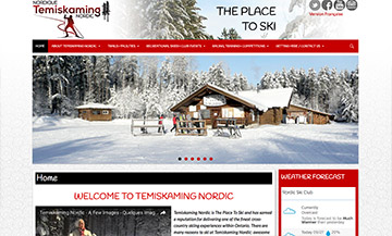 The Temiskaming Speaker - Website Design - Temiskaming Nordic