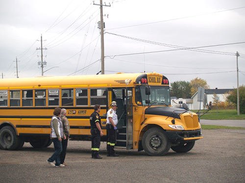 Northern Ontario News - The Temiskaming Speaker - Bus Accident