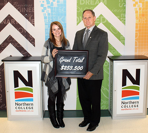 News for Temiskaming, Kirkland Lake, Timmins & Area - Scholarship campaign hits $253,500