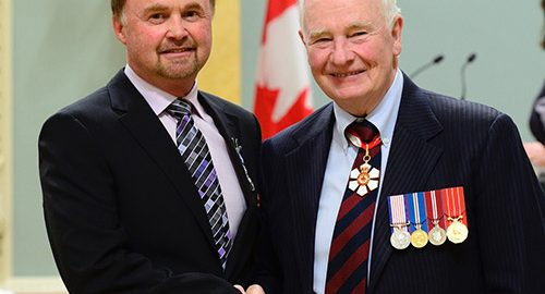Northern Ontario News - Temiskaming Shores - Barry Phippen receives Governor General's Meritorious Service Medal