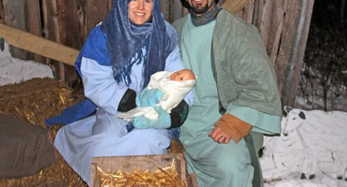 Northern Ontario News - Temiskaming Shores - Nativity Scene