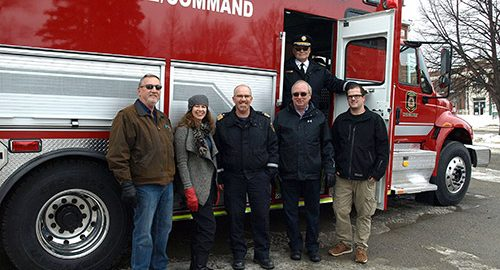 Northern Ontario News - The Temiskaming Speaker - Haileybury station has new rolling command