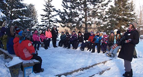 The Temiskaming Speaker - News - Kids enjoy Christmas Bird Count at Hilliardton Marsh