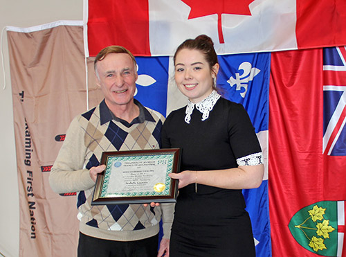 The Temiskaming Speaker - Isabelle Lacroix is ACFO Témiskaming Youth of the Year