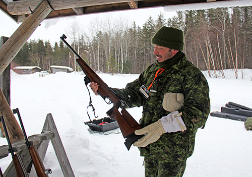 The Temiskaming Speaker - Area cadets hone skills at biathlon training exercise