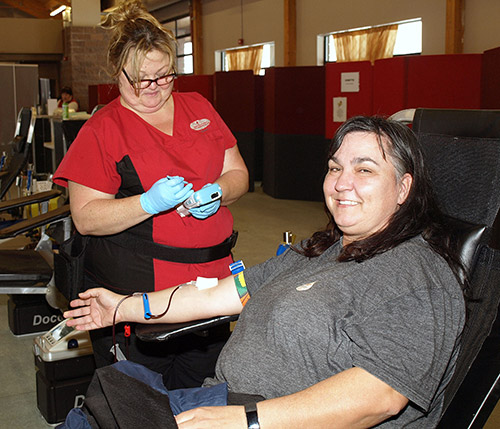 The Temiskaming Speaker - News - Banking on new blood donors