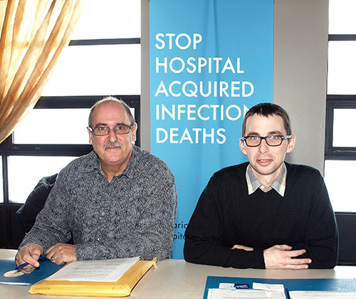 The Temiskaming Speaker - News - OCHU calls for more cash to clean hospitals, reduce infections
