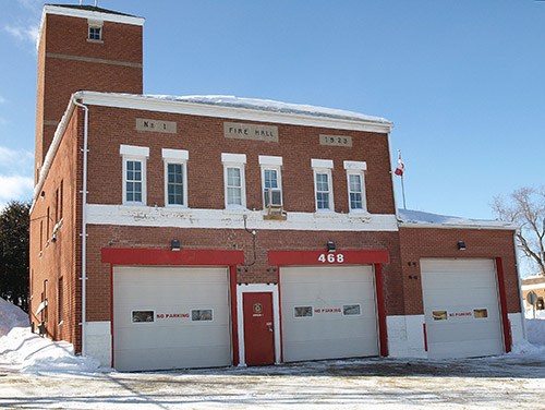 The Temiskaming Speaker - City eyeing View Street for new fire hall