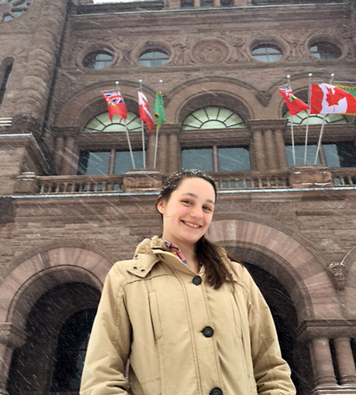 The Temiskaming Speaker - News - Englehart's Rowan Glover to serve term as Legislative Page