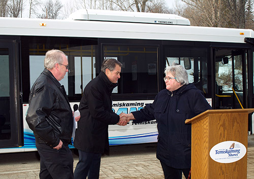 The Temiskaming Speaker - News - Feds invest $257,995 in transit