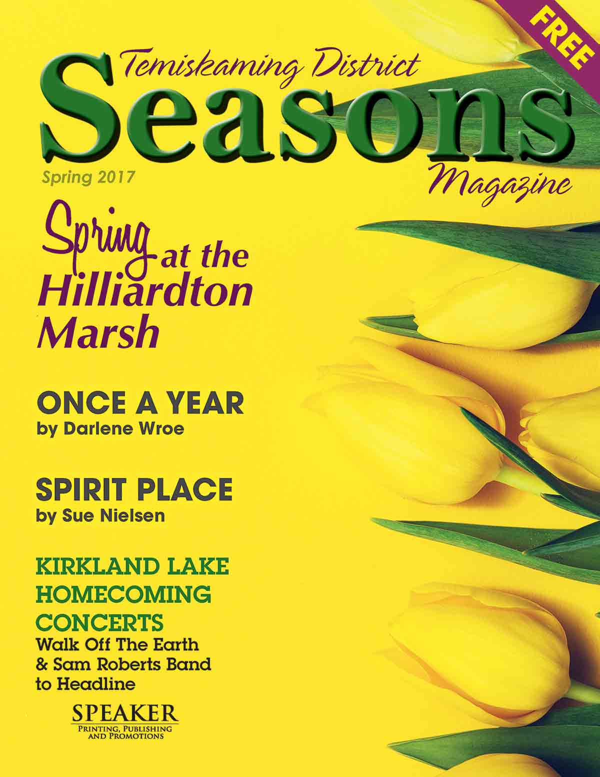 Seasons magazine spring 2017 the temiskaming speaker click here to view in pdf format seasons magazine spring 2017 sciox Images