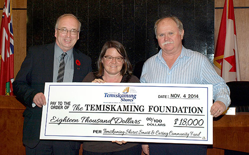 Northern Ontario News - The Temiskaming Speaker - Interest from a new Smart and Caring Fund will be invested in projects that enhance Temiskaming Shores' way of life
