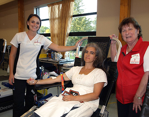 Northern Ontario News - The Temiskaming Speaker - Bloodlines and line-ups at donor clinic