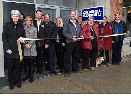 Northern Ontario News - The Temiskaming Speaker - Cobalt welcomes agent Perry to the downtown