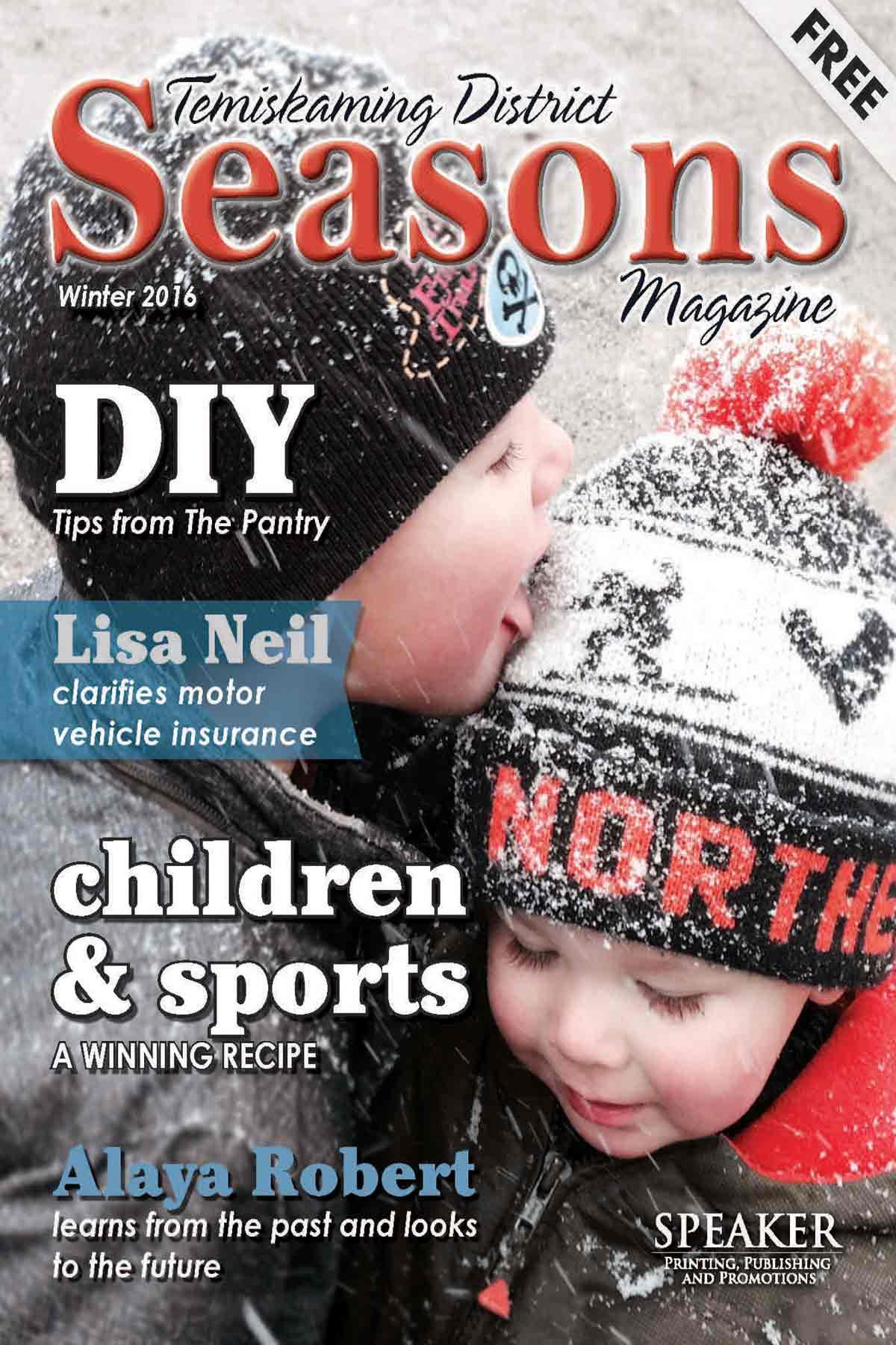 Northern Ontario News - The Temiskaming Speaker - Seasons Magazine