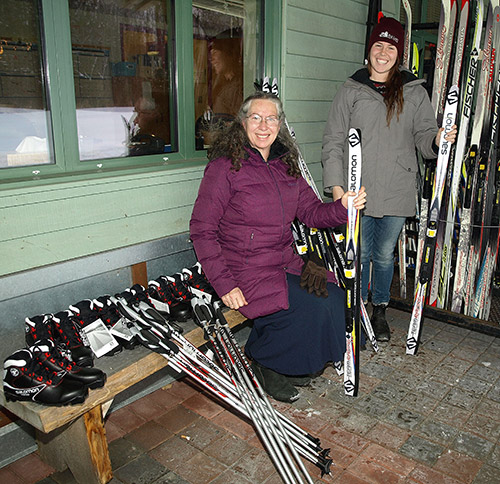 Ontario's Northern Newspaper - The Temiskaming Speaker - Getting young skiers on the Elk Lake trails