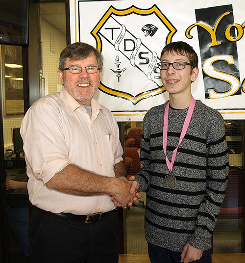 Ontario's Northern Newspaper - Temiskaming Shores - Contest win a calculated move for TDSS student