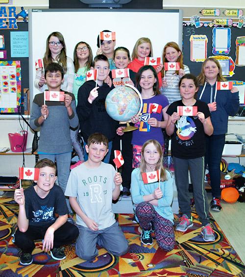 The Speaker - Ontario Newspaper - Englehart children helping Kenyan children